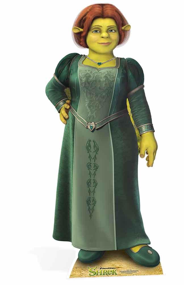 Fiona_from_Shrek_cardboard_cutout_stande