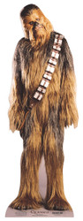 Chewbacca Mini Cardboard Cutout