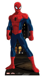 Spider-man Mini Cardboard Cutout