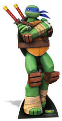 Leonardo Teenage Mutant Ninja Turtles Mini Cardboard Cutout