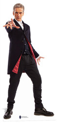 12th Doctor Peter Capaldi Mini Cardboard Cutout