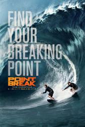 Point Break (2015) Movie Poster