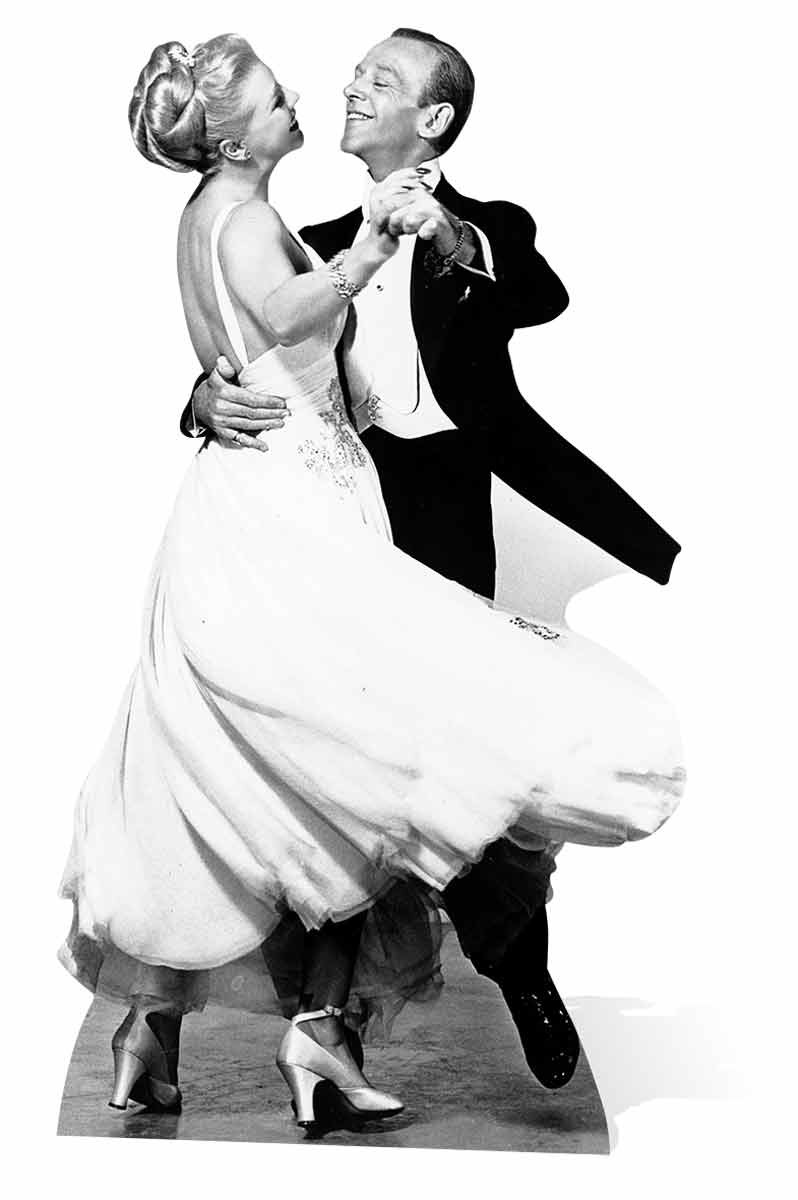 Fred Astaire And Ginger Rogers Lifesize Cardboard Cutout Standee Standup Ebay
