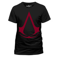 Assassins's Creed Red Logo Official Unisex T-Shirt