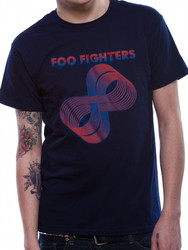 Foo Fighters Loops Logo Official Unisex T-Shirt