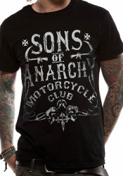 Sons Of Anarchy Motorcycle Club Logo Official Unisex T-Shirt