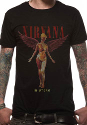 Nirvana In Utero Classic Logo Official Unisex T-Shirt