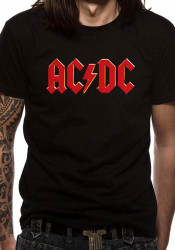 AC/DC Red Logo Official Unisex T-Shirt