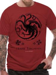 Game Of Thrones House Targaryen Sigil Official Unisex T-Shirt