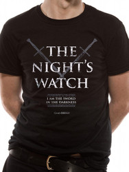Game Of Thrones The Night's Watch Official Unisex T-Shirt