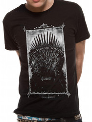 Game Of Thrones You Win Or You Die Official Unisex T-Shirt