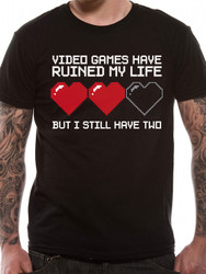 Video Games Have Ruined My Life funny Unisex T-Shirt