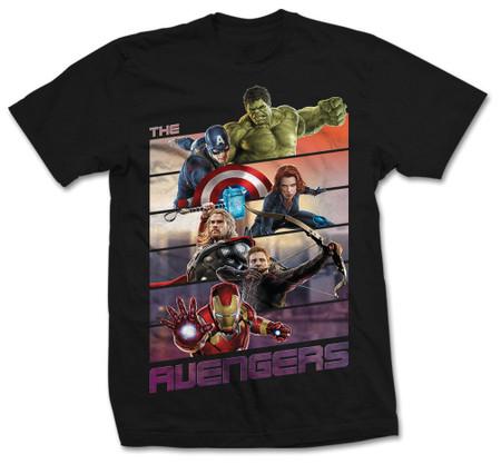The Avengers Bars Official Unisex T-Shirt