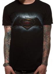 Batman v Superman Batman Black Logo Dawn of Justice T-Shirt