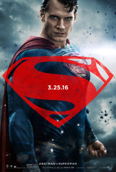 Batman V Superman Superman Dawn Of Justice Original Movie Poster Style D