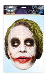 The Joker Official DC Comics Batman Card Party Face Mask