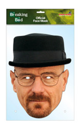 Walter White Heisenberg Official Breaking Bad Card Party Face Mask