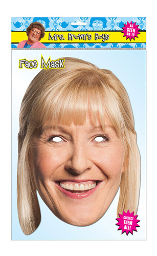 Cathy Brown Official Mrs Brown's Boys Card Party Face Mask