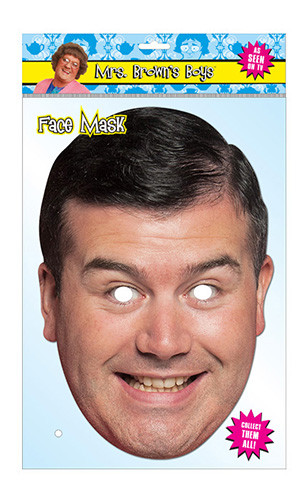 Dermot Brown Official Mrs Brown's Boys Card Party Face Mask