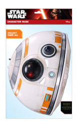 BB-8 Official Star Wars The Force Awakens Card Party Face Mask