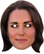 Catherine Duchess of Cambridge Card Face Mask