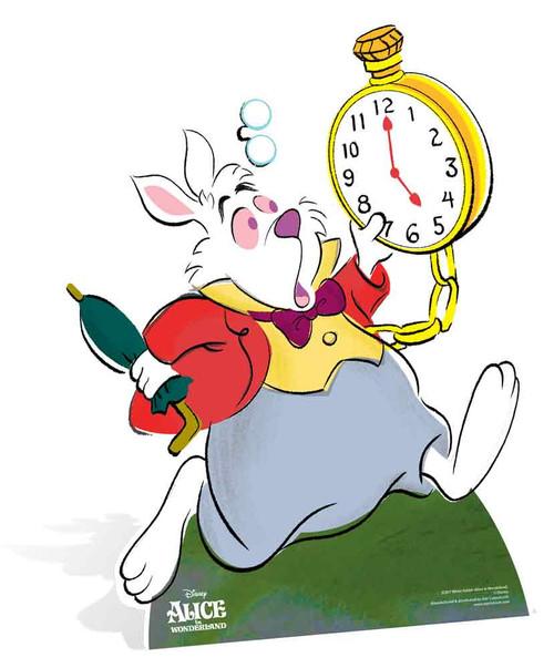 White Rabbit from Alice In Wonderland Disney Lifesize ...