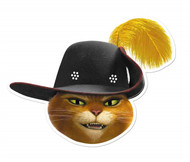 Puss in Boots from Shrek Single Card Mask