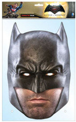 Batman Dawn of Justice Ben Affleck Card Face Mask