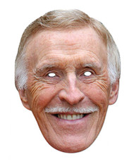 Bruce Forsyth Celebrity Single Card Party Face Mask