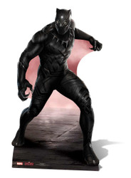 Black Panther Marvel Lifesize Cardboard Cutout