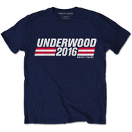 House of Cards Underwood Campaign Logo Official T Shirt