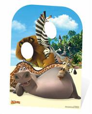 Madagascar Child Size Cardboard Cutout Stand In