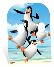 Penguins of Madagascar Child Size Cardboard Cutout Stand In