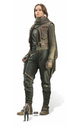 Jyn Erso Lifesize and Mini Cardboard Cutout