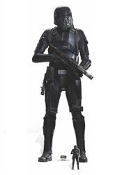 Death Trooper Lifesize and Mini Cardboard Cutout