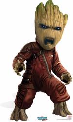 Baby Groot Mini Cardboard Cutout