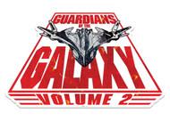 Spaceship Milano Guardians of The Galaxy Vol. 2 Cardboard Cutout Wall Art