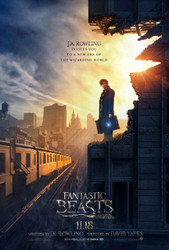 Fantastic Beasts and Where To Find Them Original Movie Poster – Newt Scamander Advance Style