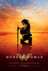Wonder Woman Original Movie Poster – Wonder Beach Style E