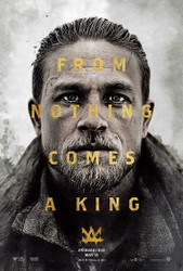 King Arthur Legend of the Sword Original Movie Poster – Arthur Advance Style