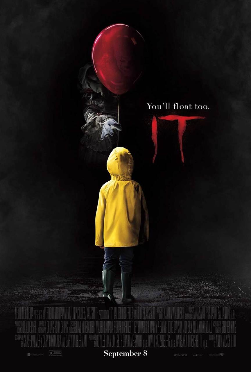 Stephen Kingu2019s IT (2017) Original Movie Poster u2013 Pennywise ...