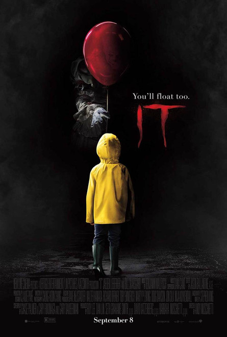 Stephen King's IT (2017) Original Movie Poster – Pennywise Final Style