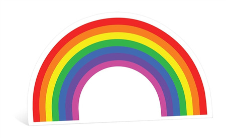 Over The Rainbow Cardboard Cutout Standee Standup
