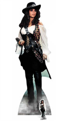 Angelica Pirates of the Caribbean Cardboard Cutout / Standee