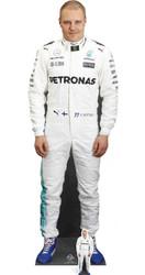 Valtteri Bottas with Mini Formula One Racing Driver Cardboard Cutout / Standee