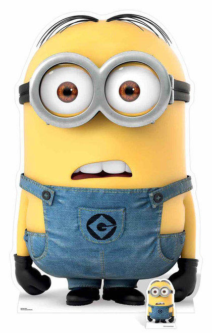 dave minion from despicable me 3 cardboard cutout. Black Bedroom Furniture Sets. Home Design Ideas