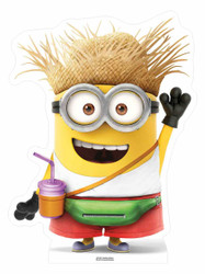 Vacation Minion Despicable Me 3 Mini Cardboard Cutout