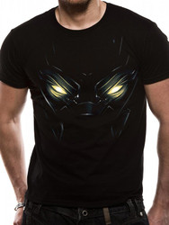 Black Panther Eyes Official Marvel Black Unisex T-Shirt