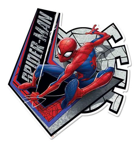 Spiderman cardboard cutout