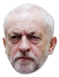 Jeremy Corbyn 2D Card Party Face Mask